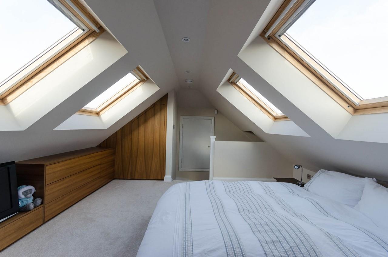 Attic Master Suite Dormer